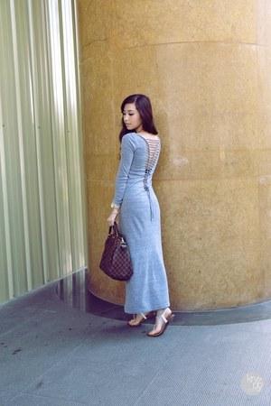 heather gray sophiscat dress
