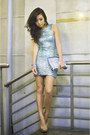 Aquamarine-tfnc-london-dress-silver-zara-bag-camel-call-it-spring-heels