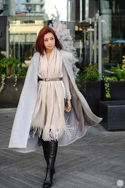 silver Sheinside coat
