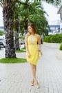 Yellow-sheinside-dress