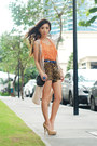 Dark-brown-wagw-shorts-beige-wagw-vest-camel-call-it-spring-heels