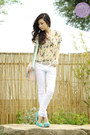 White-yesstyle-jeans-light-pink-dazzled-bag-white-sm-accessories-bracelet