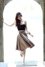 Dark-khaki-wagw-skirt