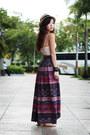 Deep-purple-peace-love-fashion-skirt-camel-aldo-hat-light-pink-f21-top