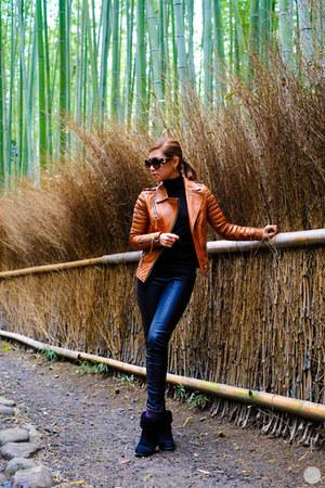 bronze Boda Skins jacket