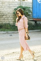 light pink WAGW dress