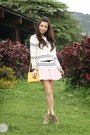 Off-white-by-details-sweater-cream-celine-bag-bubble-gum-by-details-skirt