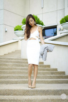 white Style Staple dress
