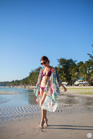 maroon Soak Swimwear swimwear