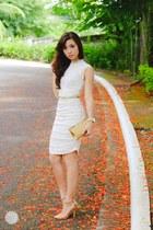 ivory sophiscat dress