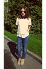Michael-kors-boots-topshop-jeans-h-m-bracelet-mango-top