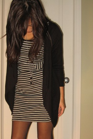 winners dress - American Eagle cardigan - Miss Sixty shoes