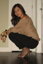 Zara top - Zara pants - Aldo boots - Aldo accessories