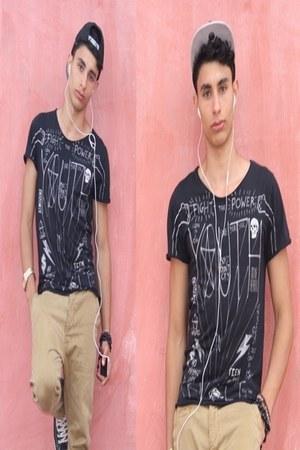 Zara t-shirt - Bershka jeans