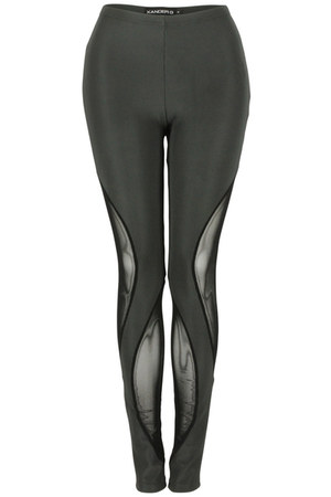 black Xander G leggings