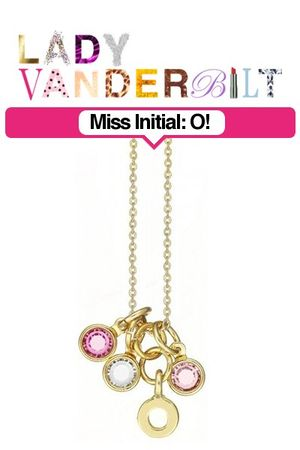 pink LADY VANDERBILT necklace