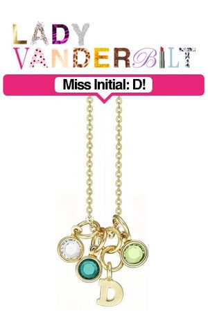 green LADY VANDERBILT necklace