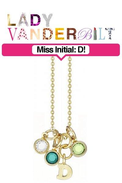 green LADY VANDERBILT necklace