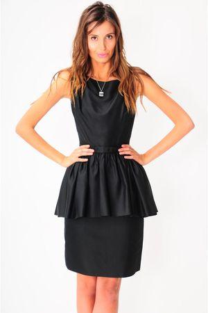 black la vintage dress