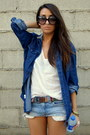 Navy-denim-zara-shirt-light-brown-navajo-zara-belt