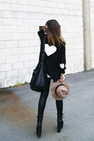 black High Heels Suicide cardigan