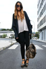 Gray-podium-topshop-shoes-navy-wool-bershka-jacket-black-zara-leggings