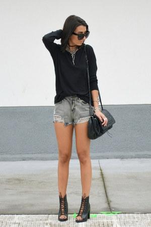 gray OASAP shorts