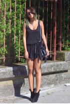 black Zara romper