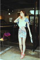 floral print 59 seconds skirt