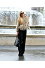 Leather-prada-bag-faux-fur-zara-jacket-twist-romper-prada-glasses
