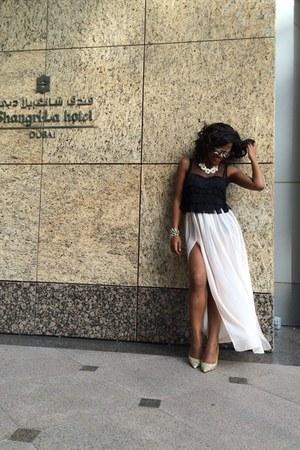 Primark top - Forever 21 accessories - Primark skirt