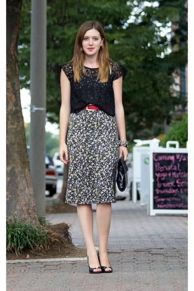 Sugar Lips top - Elie Tahari shoes - Forever21 dress
