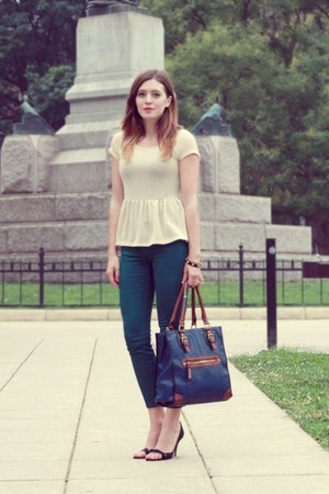 TJ Maxx blouse - Gap pants