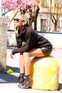 Black-sweater-black-river-island-sunglasses-black-h-m-skirt