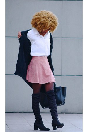 pink new look skirt