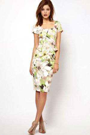 floral print karen millen dress