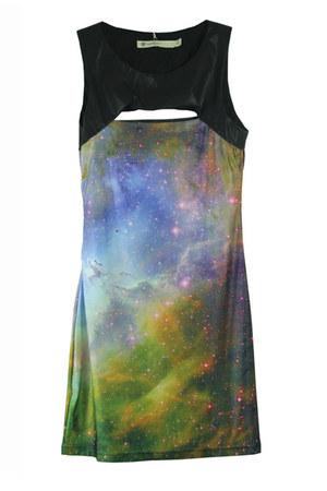 elastane dress