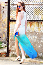 Colorful Life Gradient Chiffon Skirt