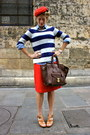 Brown-nine-west-shoes-navy-j-crew-sweater-dark-brown-celine-purse