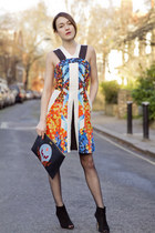karen millen boots - Peter Pilotto dress - Stella McCartney bag