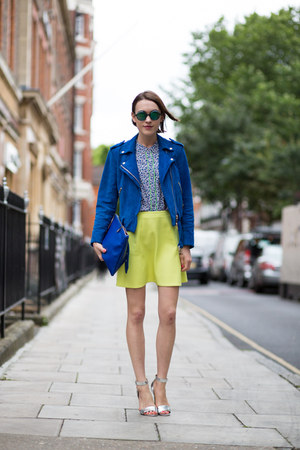 Club Monaco jacket - Hobbs shirt - Hobbs bag - JCrew skirt - next heels