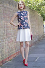 Lk-bennett-bag-coach-heels-reiss-skirt-tory-burch-top