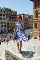 Rebecca Minkoff dress - Mulberry bag - Hobbs sandals