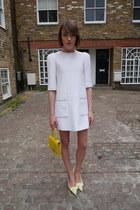 Louis Vuitton dress - Louis Vuitton bag - Louis Vuitton pumps