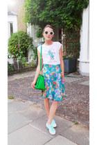 House of Holland t-shirt - Michael Kors bag - Wildfox sunglasses