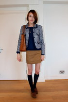 whistles jacket - Anya Hindmarch bag - H&M socks - Massimo Dutti jumper