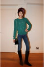 Massimo-dutti-boots-acne-jeans-topshop-hat-topshop-bag-whistles-jumper