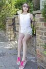 Paul-joe-sister-jacket-gap-shorts-kate-spade-accessories-gola-sneakers