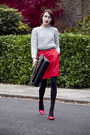 Coach-bag-coach-skirt-coach-jumper-coach-heels