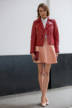 Club Monaco jacket - Gap shirt - LKBennett bag - Club Monaco skirt